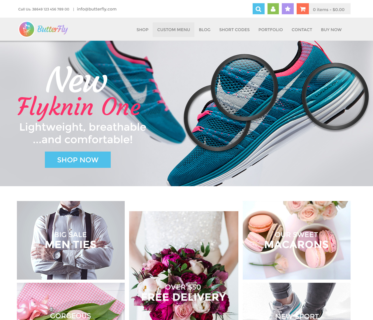 ButterFly – Creative WooCommerce Theme – 1 – 10666081