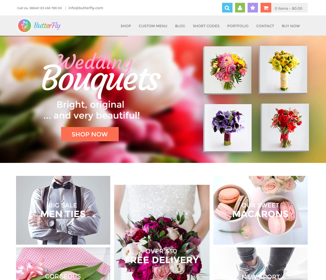 ButterFly – Creative WooCommerce Theme – 3 – 10666081