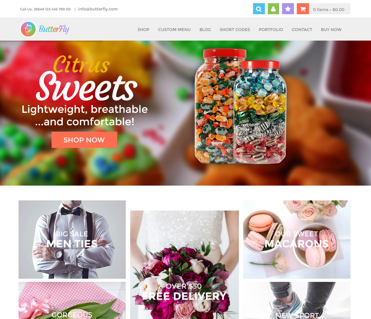 ButterFly – Creative WooCommerce Theme – 2 – 10666081