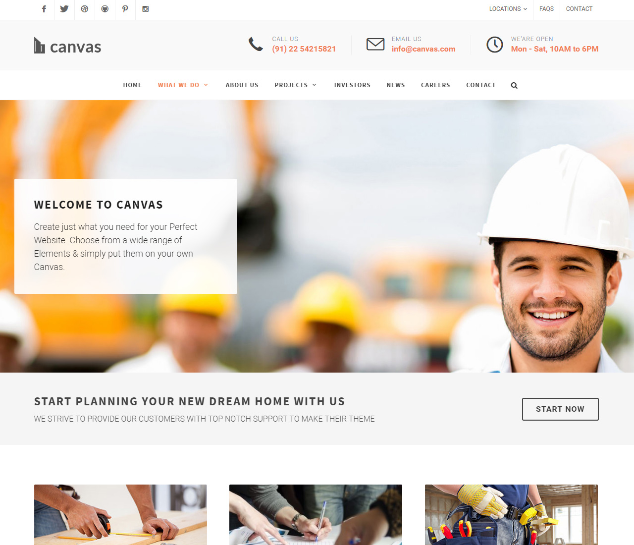 Canvas The Multi-Purpose HTML5 Template – 9228123