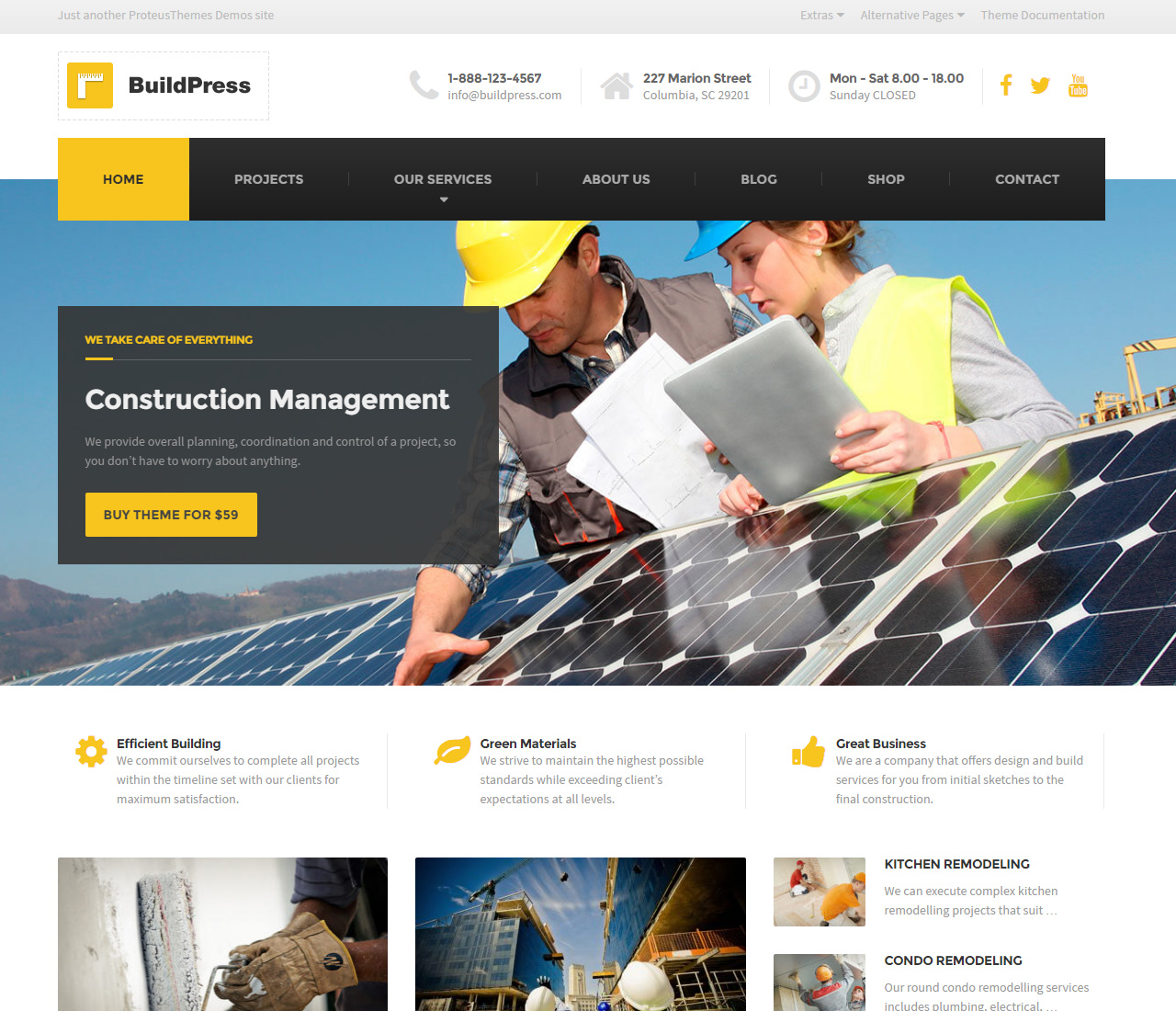 BuildPress — Construction Business WP Theme — 1 — 9323981