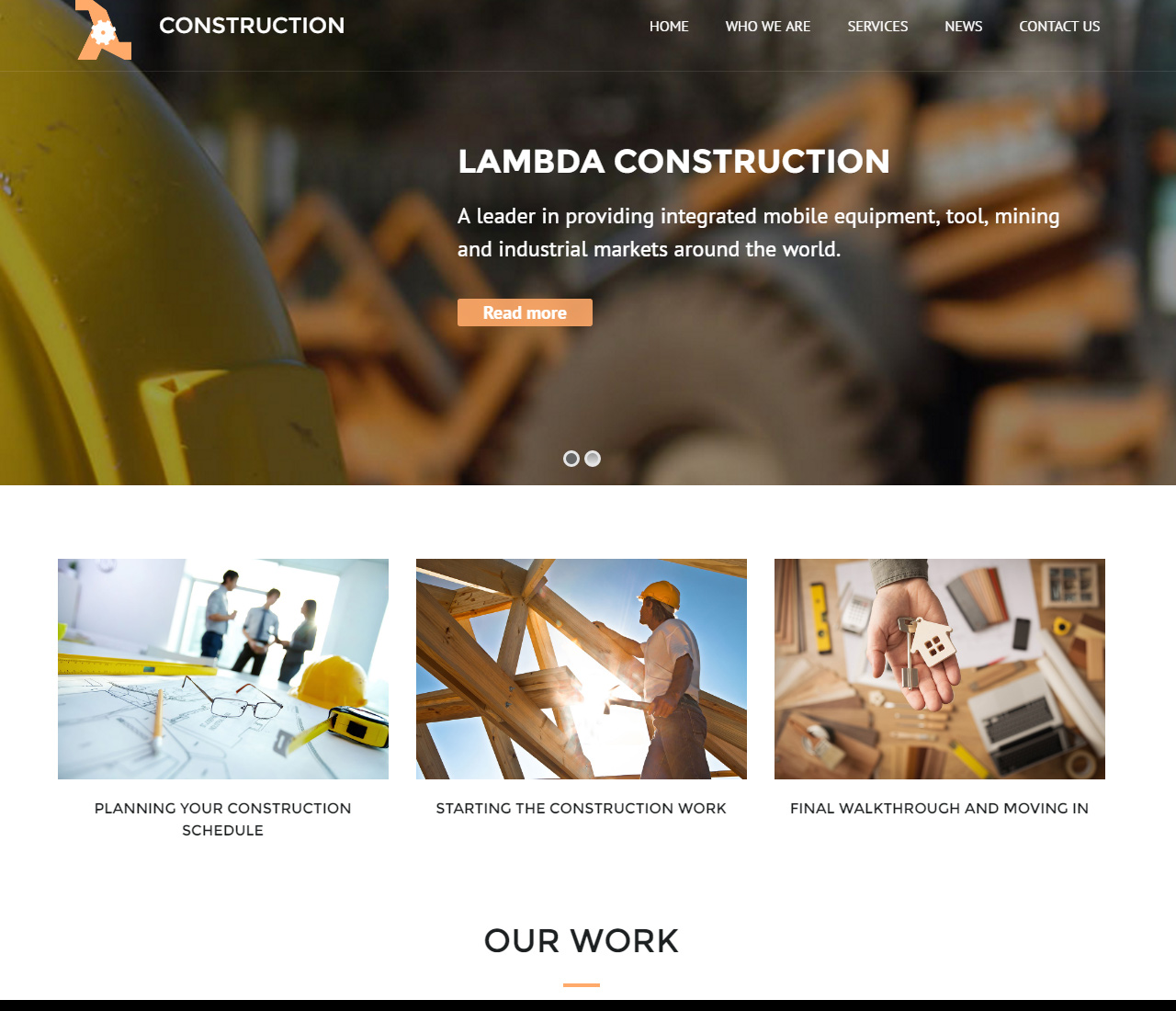 Lambda Multi Purpose Responsive Bootstrap Theme – 9693644